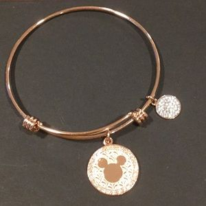 Jewelry - Rose gold Mickey Mouse bracelet